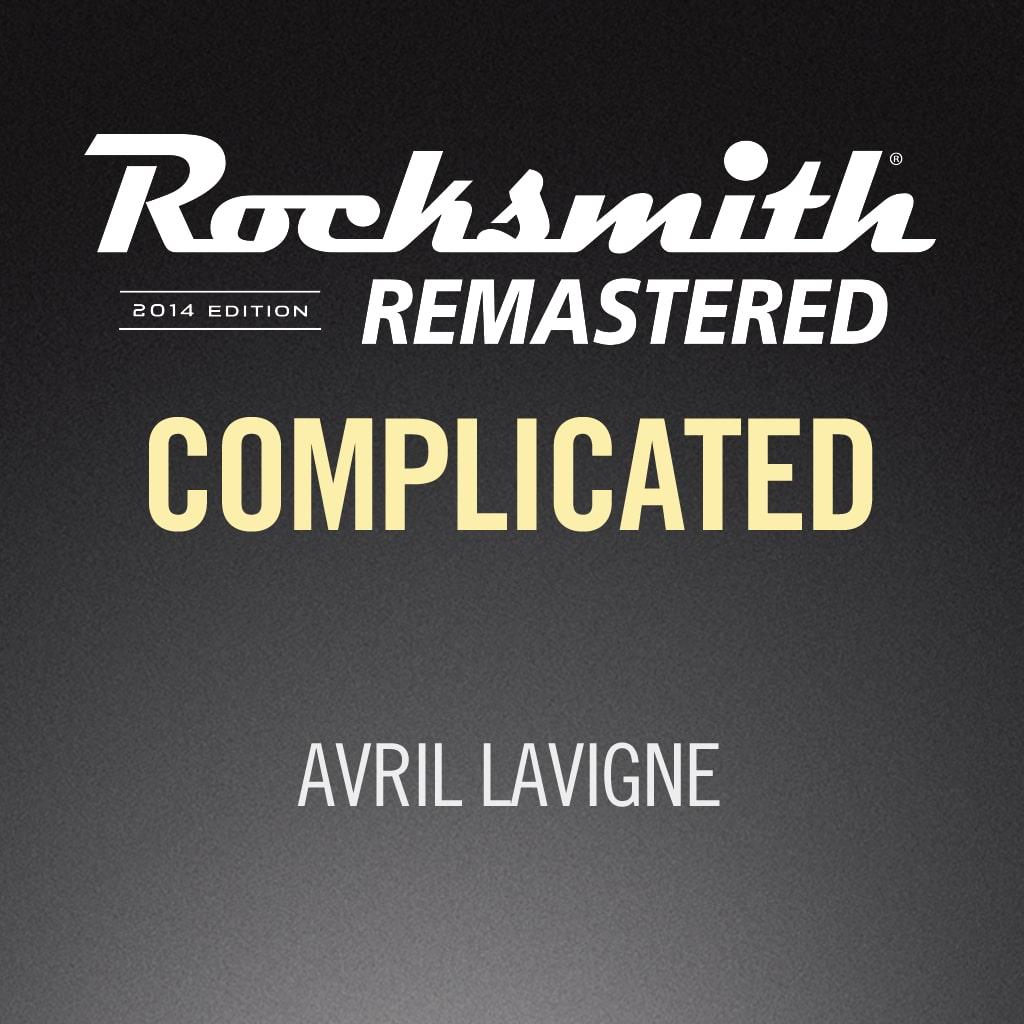 Rocksmith® 2014 – Complicated - Avril Lavigne