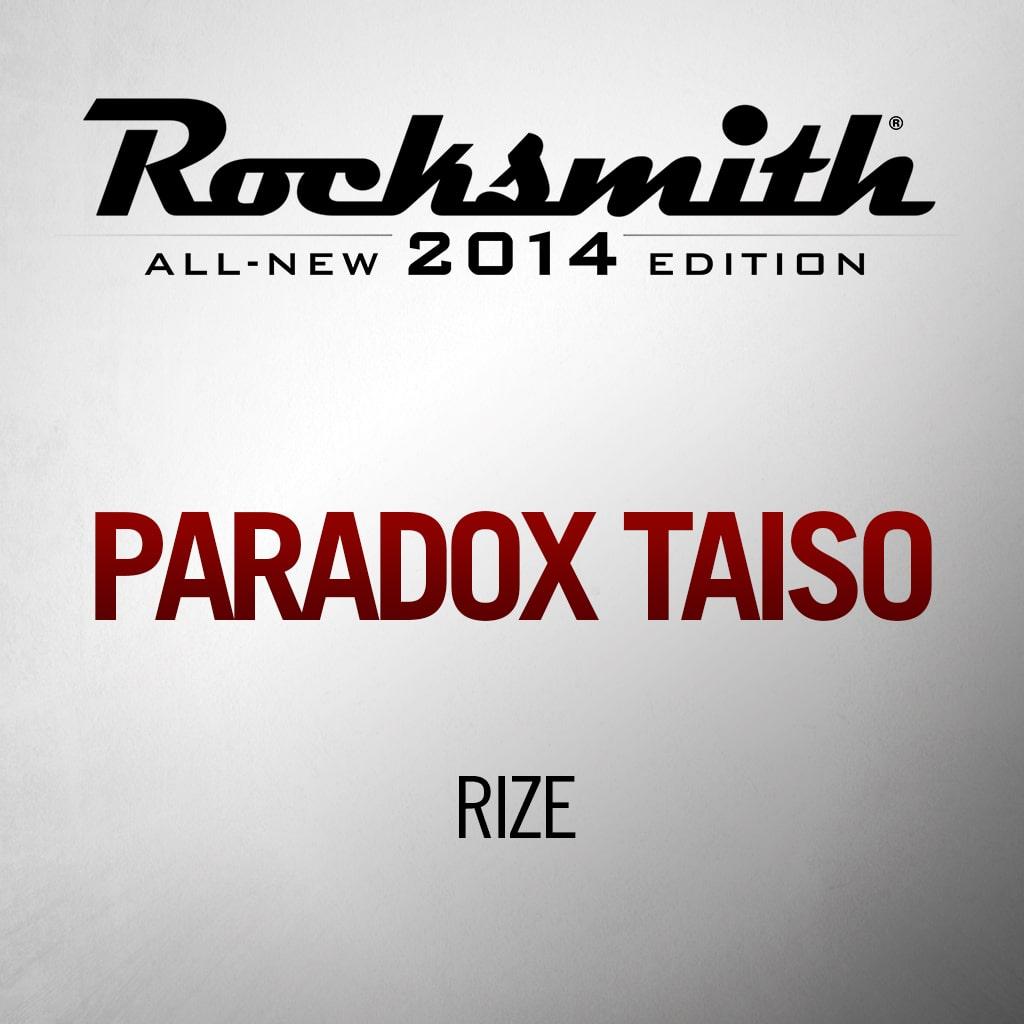 'PARADOX Taiso' by RIZE
