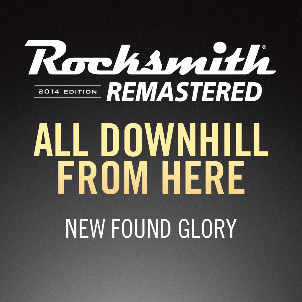 Rocksmith® 2014 – All Downhill from Here - New Found Glory