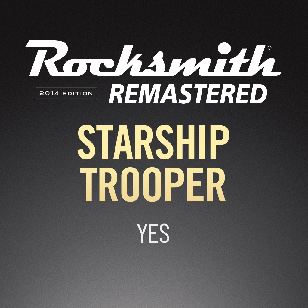 Starship Trooper - Yes