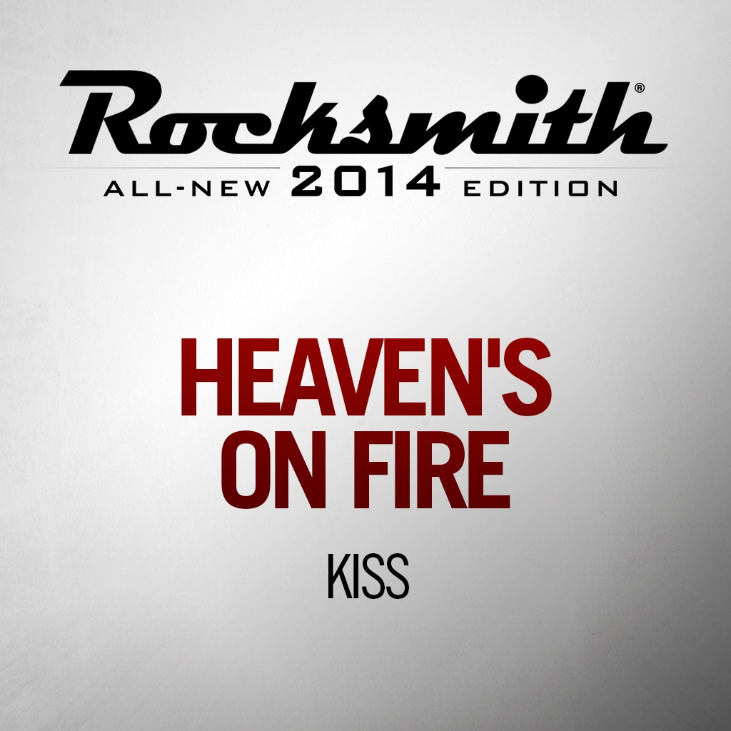 'Heaven's On Fire' by KISS