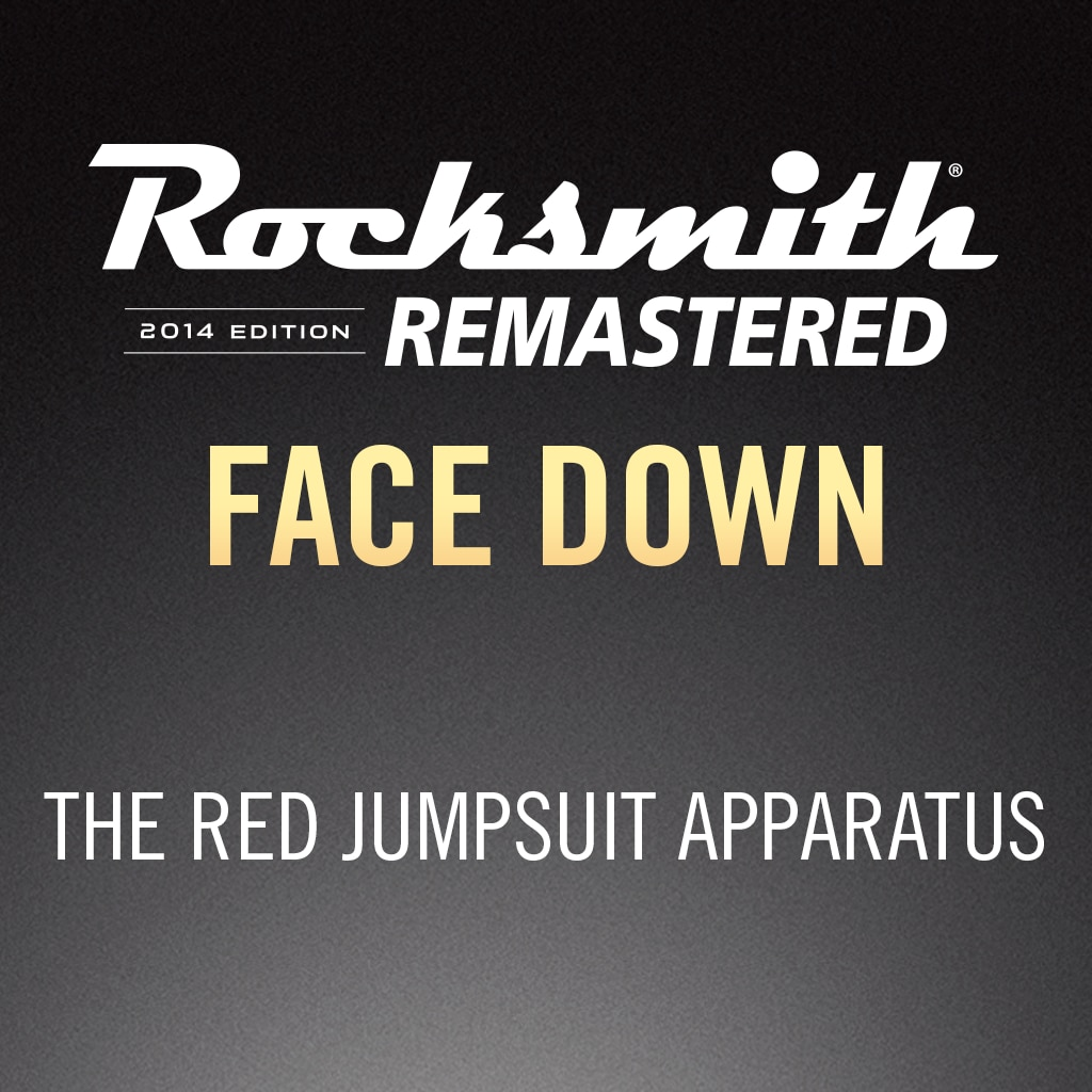 Rocksmith® 2014 – Face Down - The Red Jumpsuit Apparatus