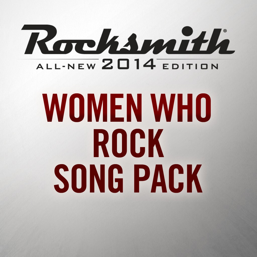 Women Who Rock Song Pack
