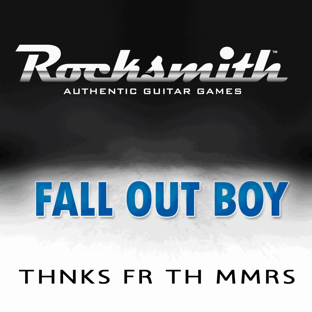 Rocksmith™ Fall Out Boy - Thnks Fr Th Mmrs