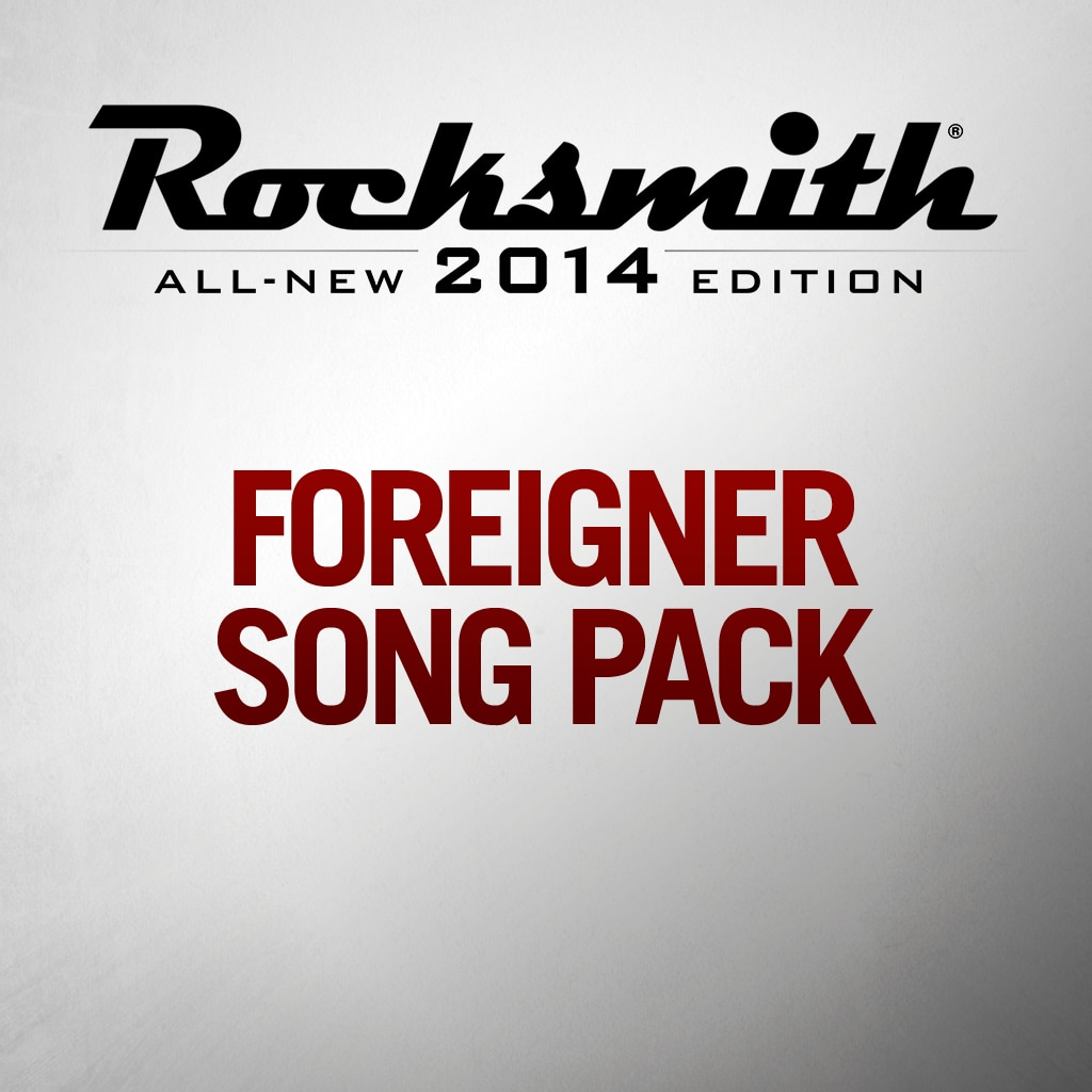Foreigner Song Pack