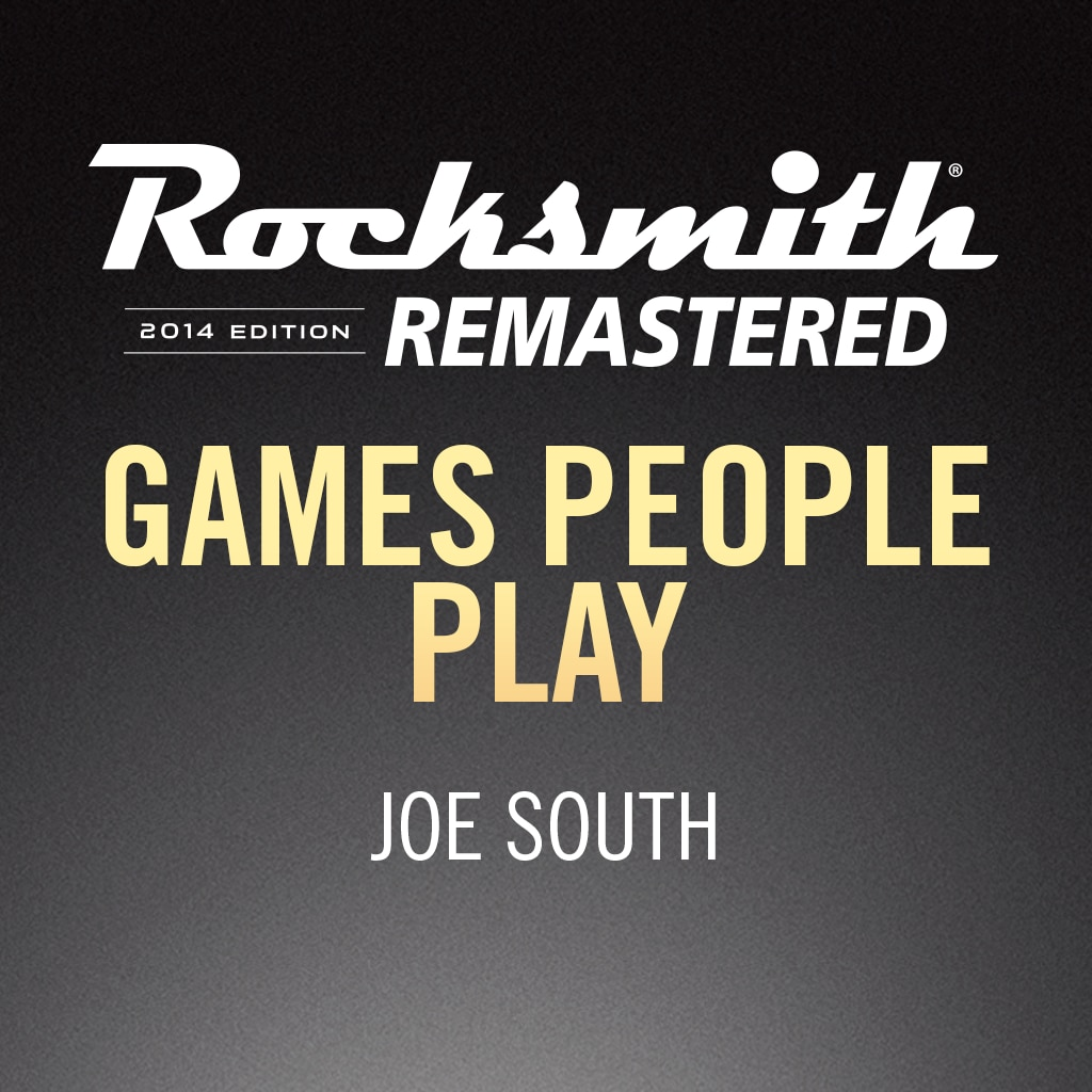 Rocksmith® 2014 – Games People Play - Joe South