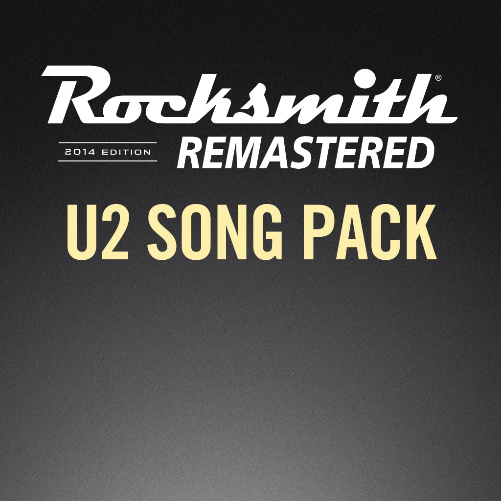 Rocksmith® 2014 – U2 Song Pack