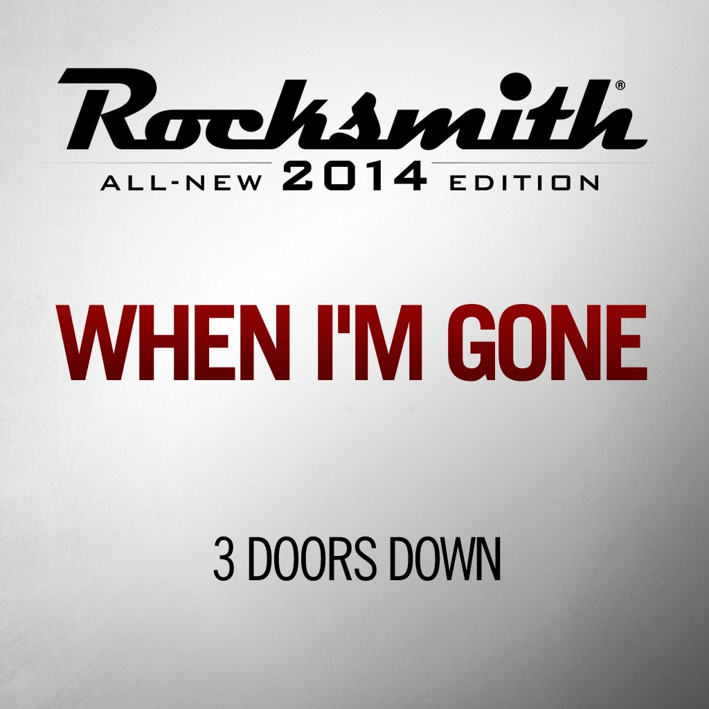Rocksmith™ 3 Doors Down - When I'm Gone
