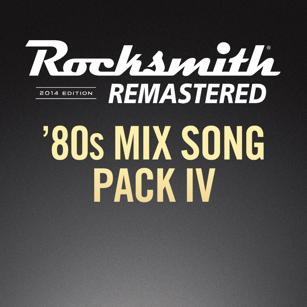 Rocksmith® 2014 – 80s Mix Song Pack IV