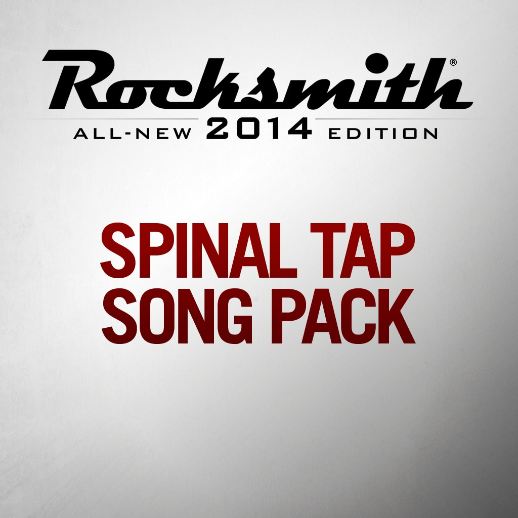 Spinal Tap Song Pack