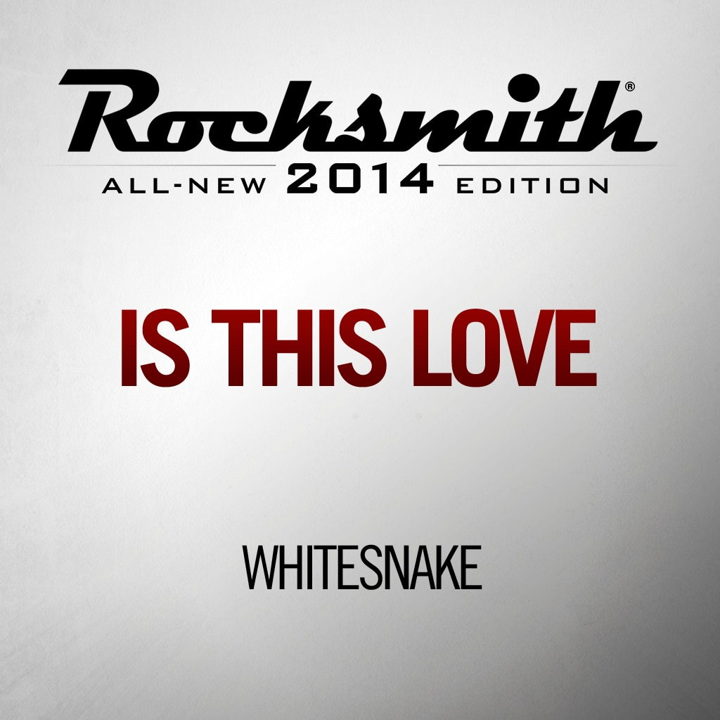 Rocksmith™ Whitesnake - Is This Love