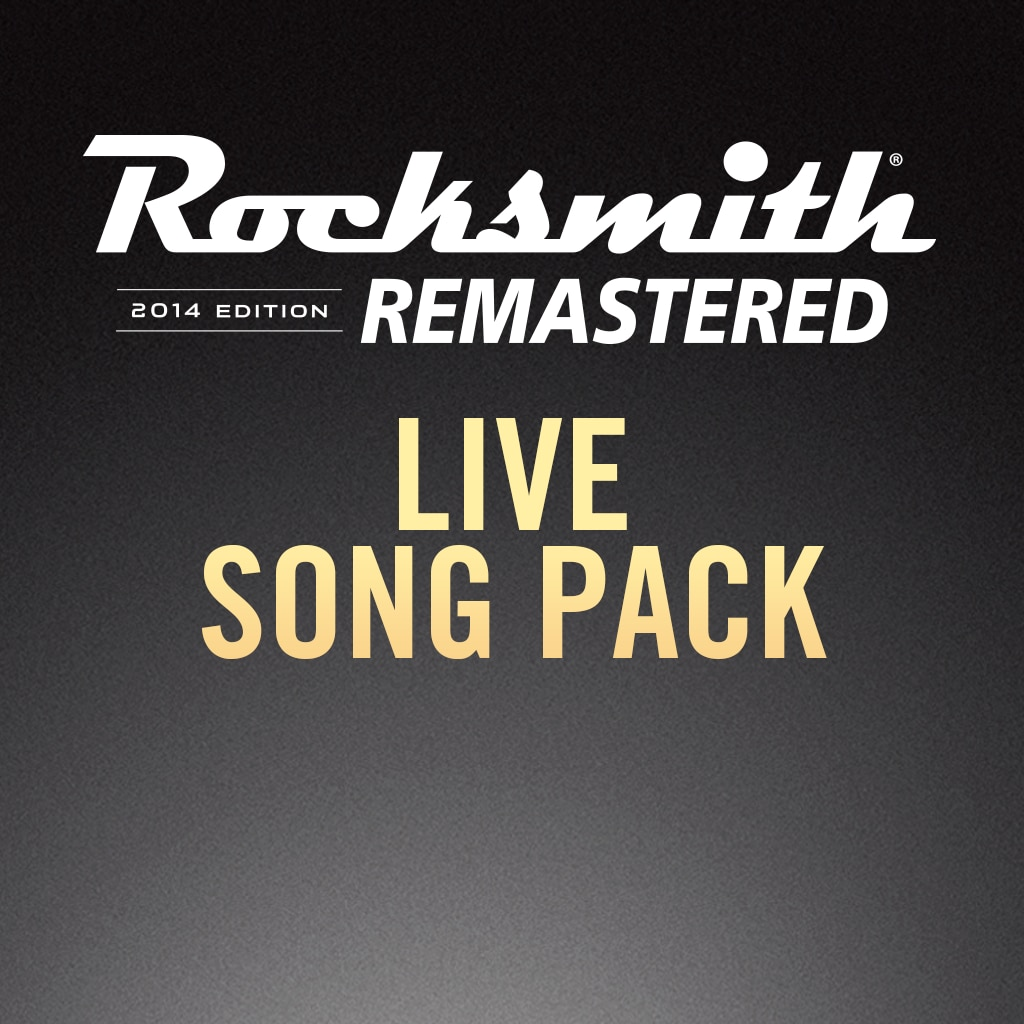 Rocksmith® 2014 – Live Song Pack