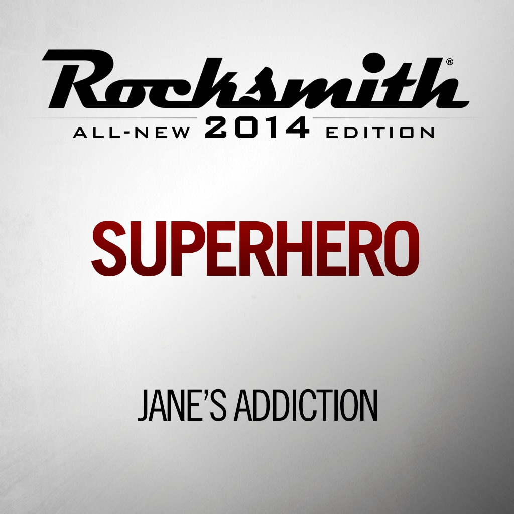Superhero - Jane's Addiction
