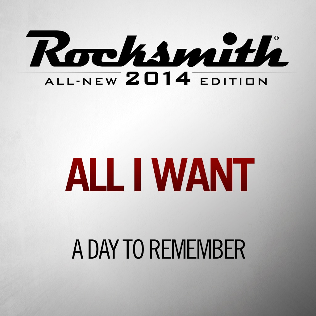 'All I Want' by A DAY TO REMEMBER