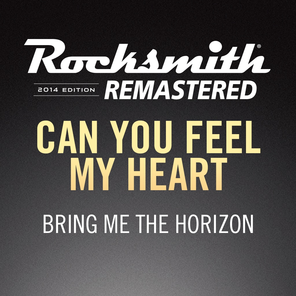 Rocksmith® 2014 – Can You Feel My Heart - Bring Me the Horizon