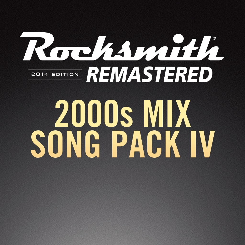 Rocksmith® 2014 – 2000s Mix Song Pack IV