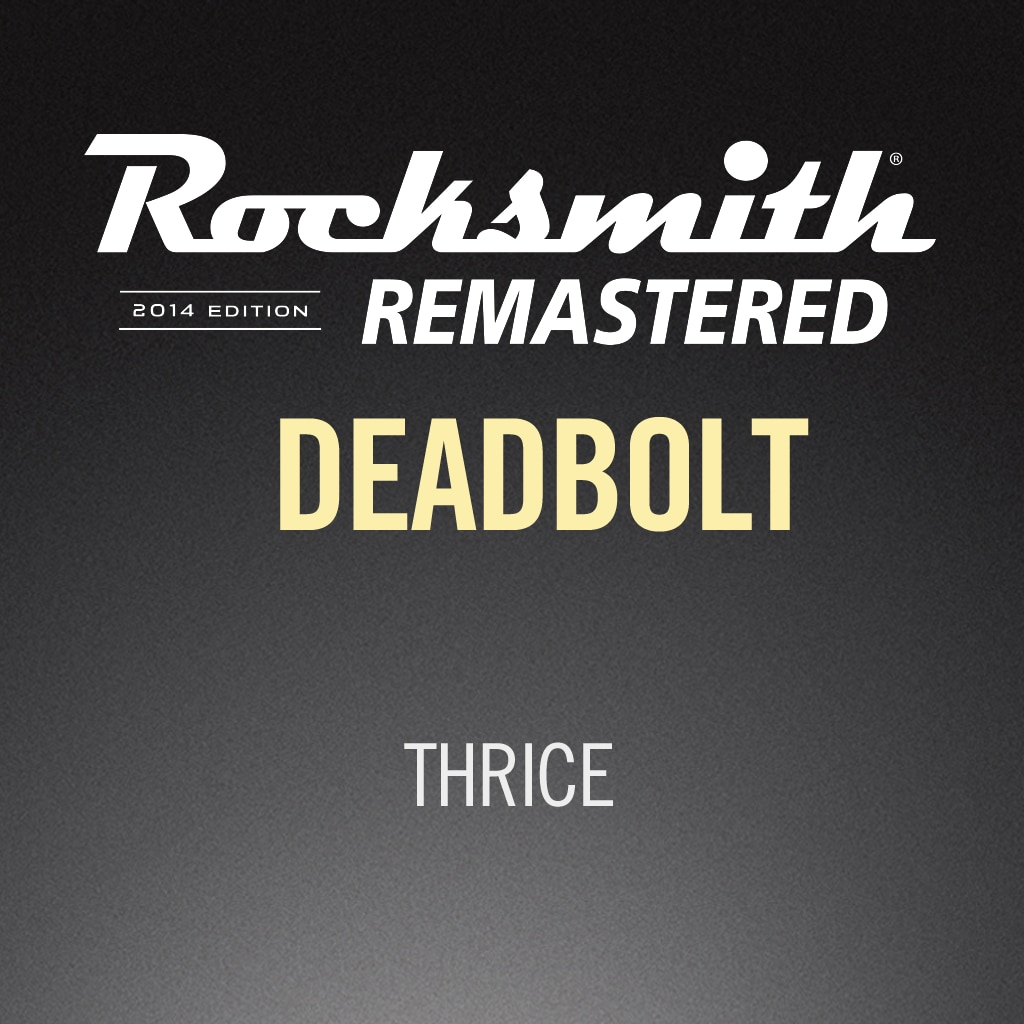 Rocksmith® 2014 – Deadbolt - Thrice