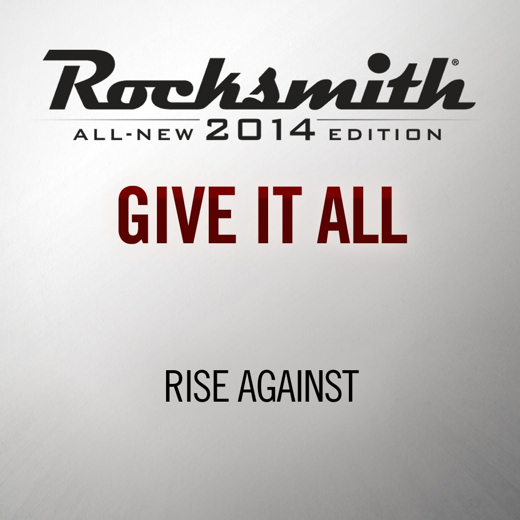 'Give it All' by RISE AGAINST