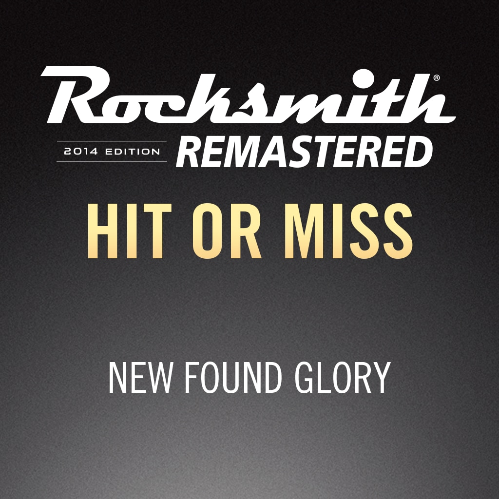 Rocksmith® 2014 – Hit or Miss - New Found Glory
