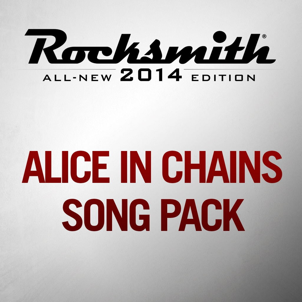 Alice In Chains Song Pack