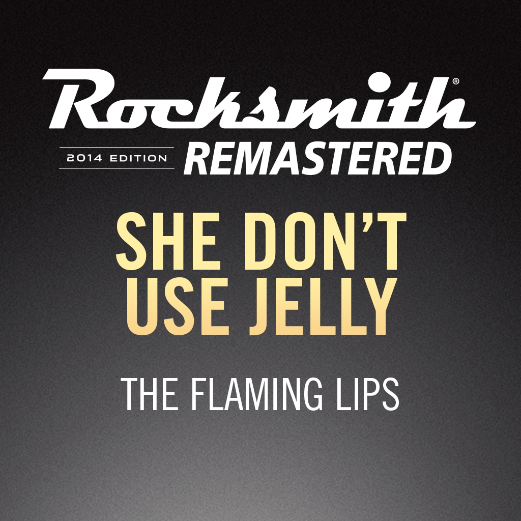 Rocksmith® 2014 – She Don't Use Jelly - The Flaming Lips