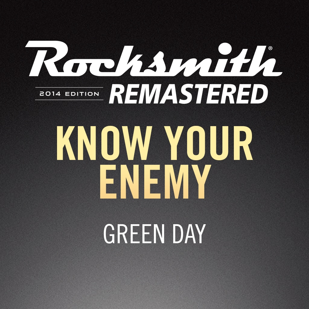 Rocksmith® 2014 – Know Your Enemy - Green Day