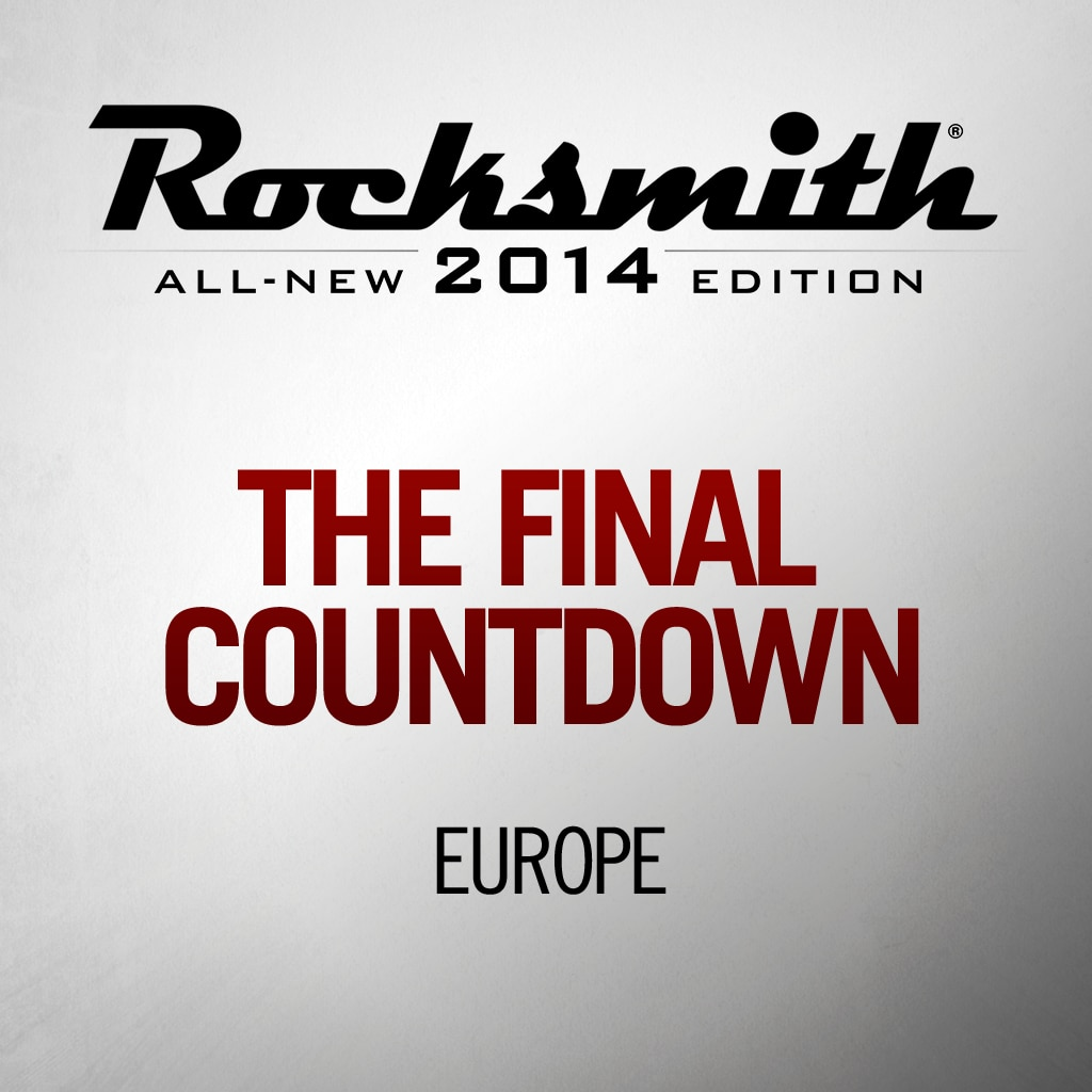 Rocksmith™ Europe - The Final Countdown