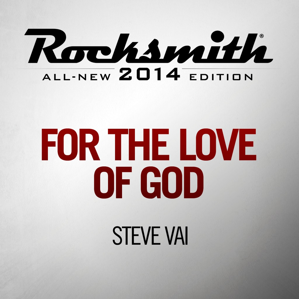 For The Love Of God - Steve Vai