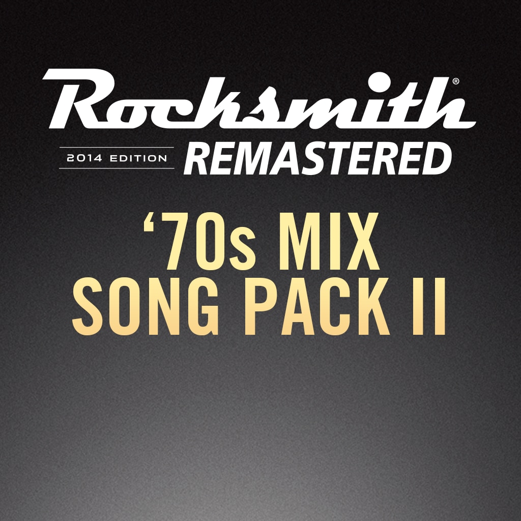 Rocksmith® 2014 – 70s Mix Song Pack II