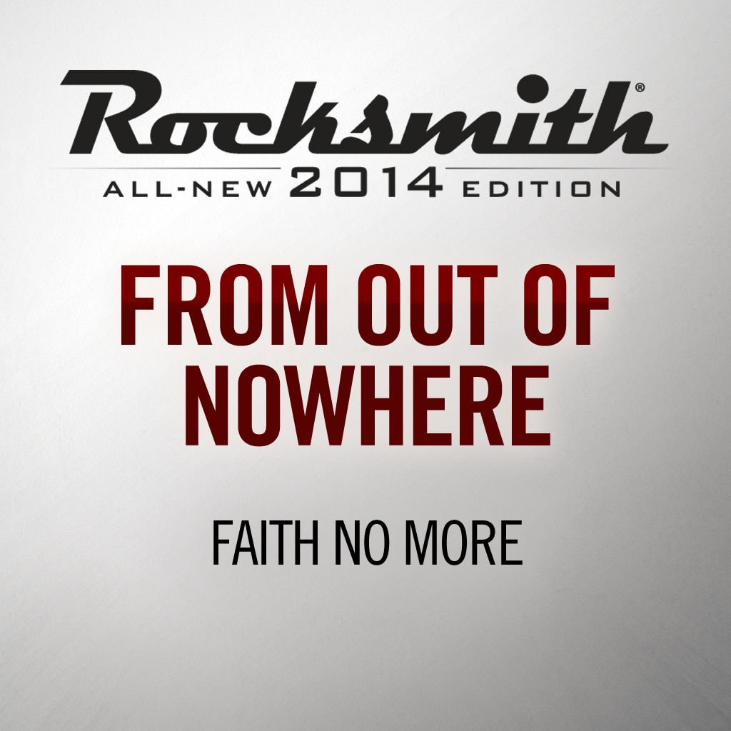 'From Out Of Nowhere' - Faith No  More