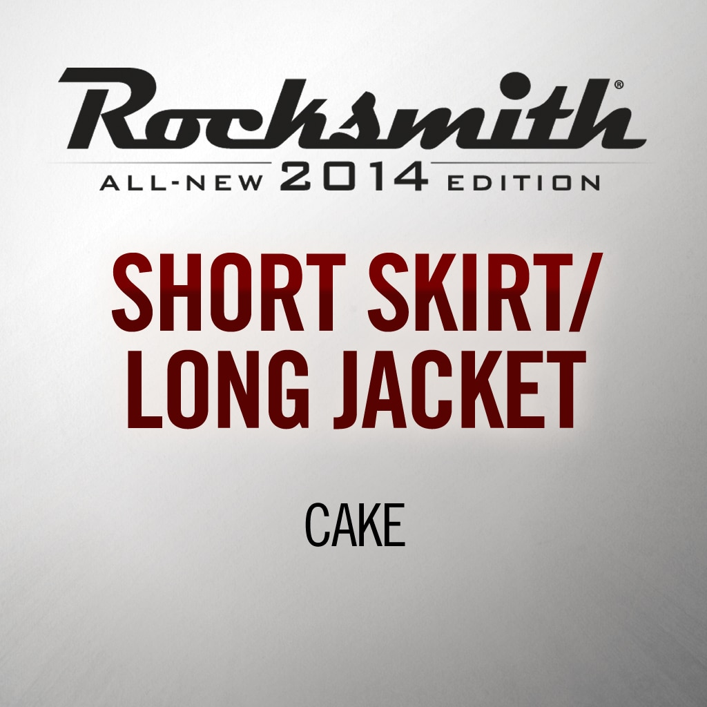 'Short Skirt / Long Jacket' by CAKE