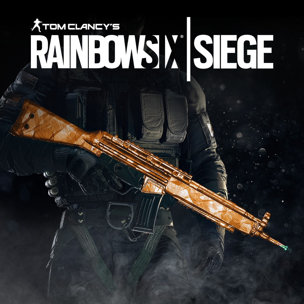 Tom Clancy's Rainbow Six Siege: Topaz weapon skin
