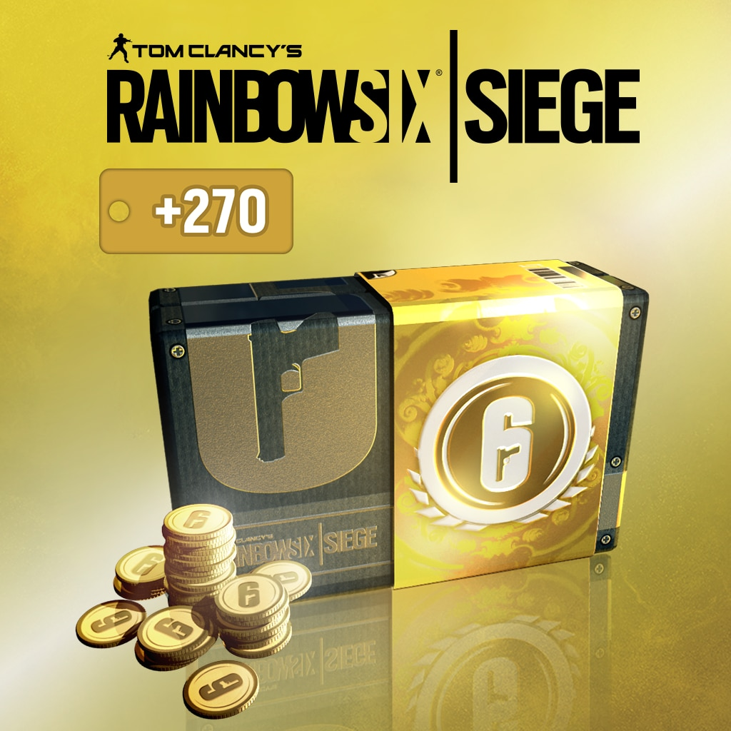 TOM CLANCY'S RAINBOW SIX® SIEGE: 2670 (2400+270) نقطة رصيد R6