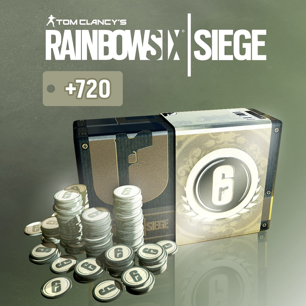 TOM CLANCY'S RAINBOW SIX® SIEGE: 4920 (4200+720) نقطة رصيد R6