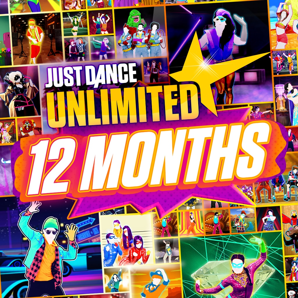 Just Dance Unlimited - تذكرة لمدة 12 شهرًا