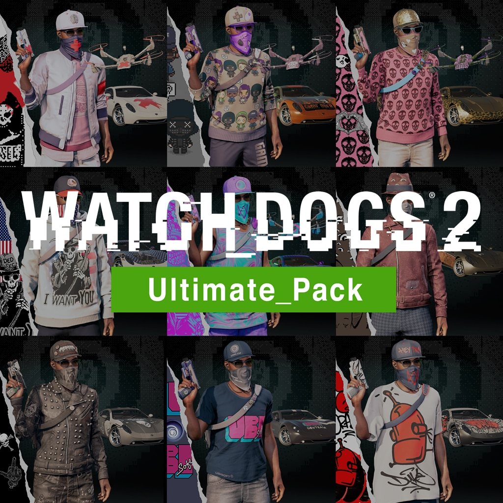 Watch Dogs®2 - Ultimate Pack 1