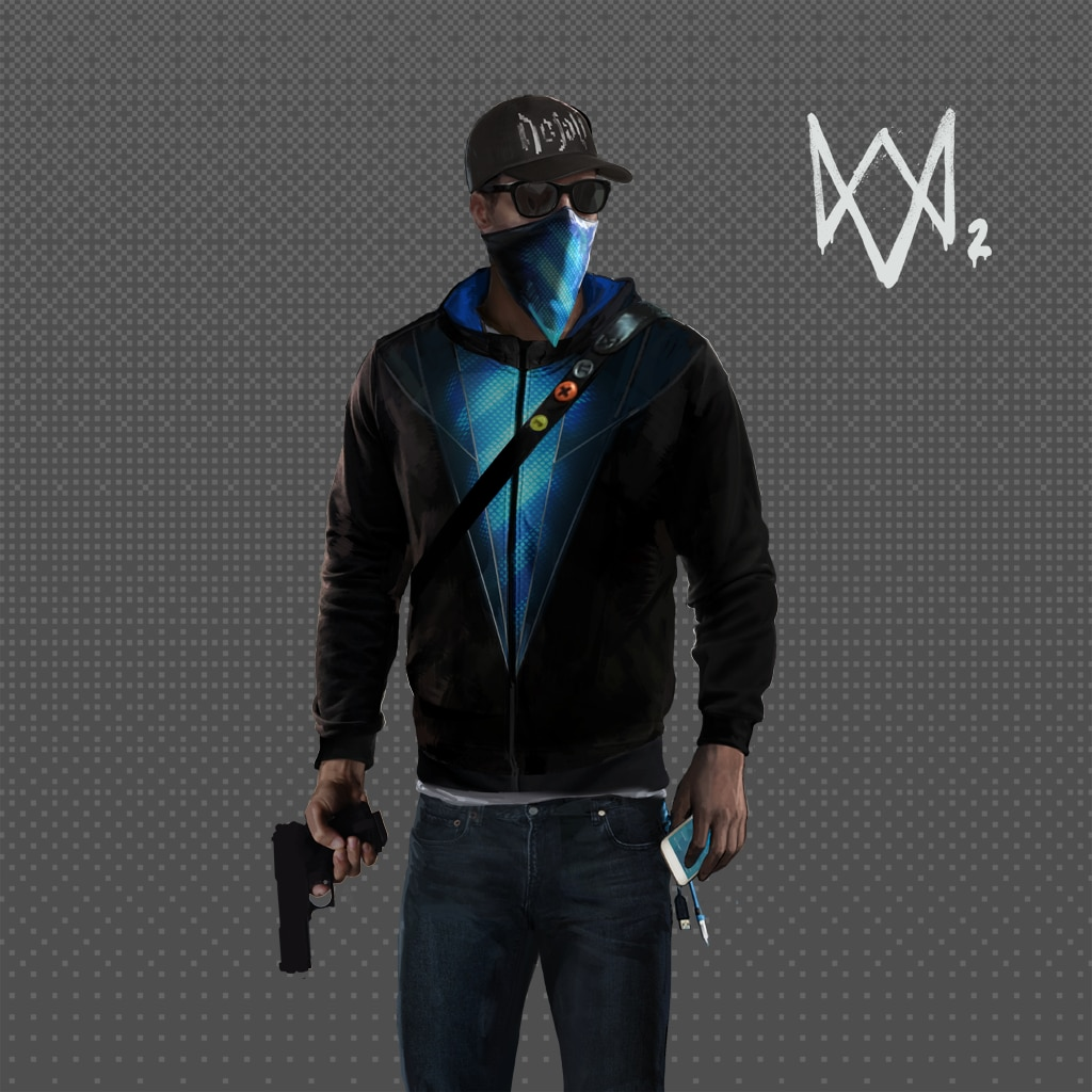 Watch Dogs®2 - Defalt Outfit Pack