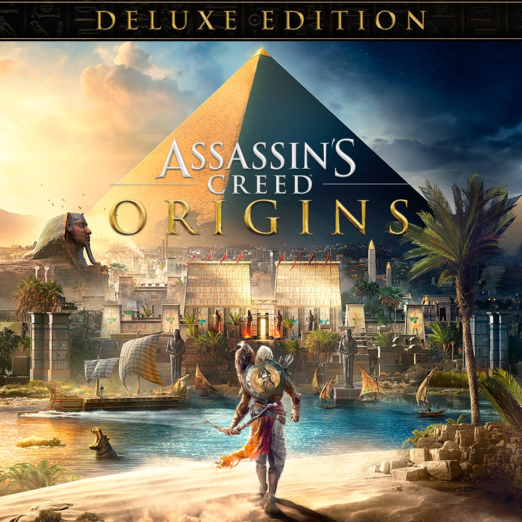 Assassin's Creed Origins - Digital Deluxe Edition (Simplified Chinese, English, Korean, Traditional Chinese)