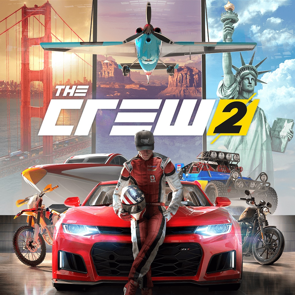 The Crew 2 - Digital Standard Edition (Simplified Chinese, English, Korean, Traditional Chinese)