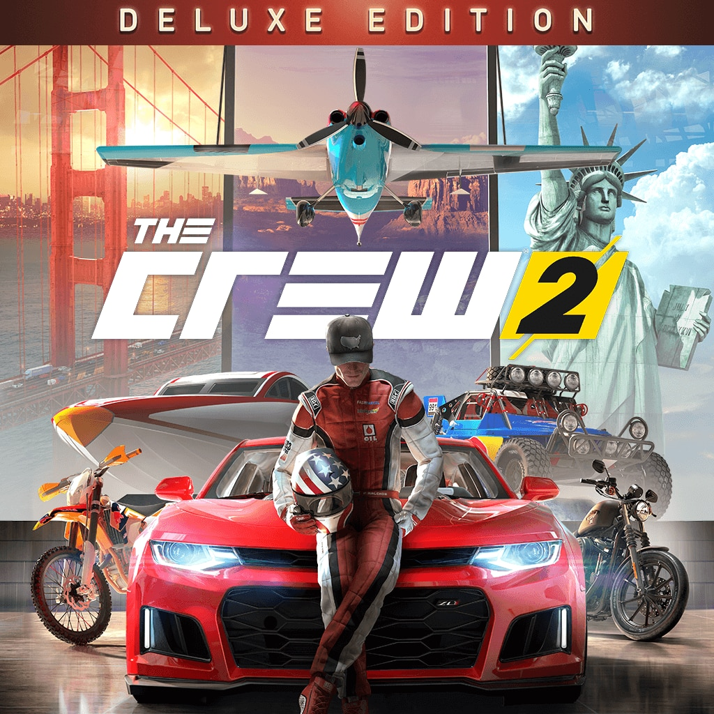 The Crew 2 - Digital Deluxe Edition (Simplified Chinese, English, Korean, Traditional Chinese)