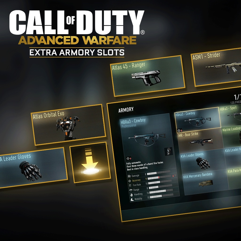 Call of Duty®: Advanced Warfare EXTRA ARMORY SLOTS1 E/A