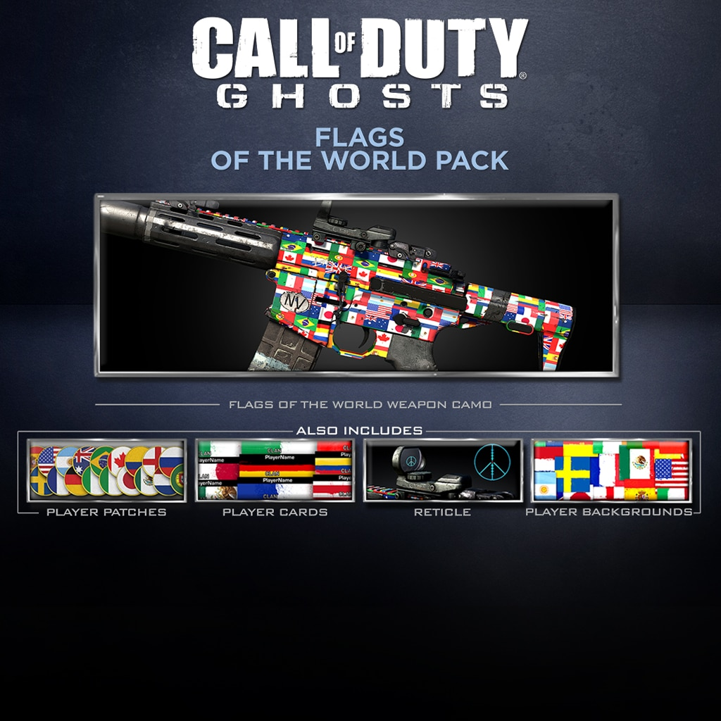 Call of Duty®: Ghosts - Pack Drapeaux du monde