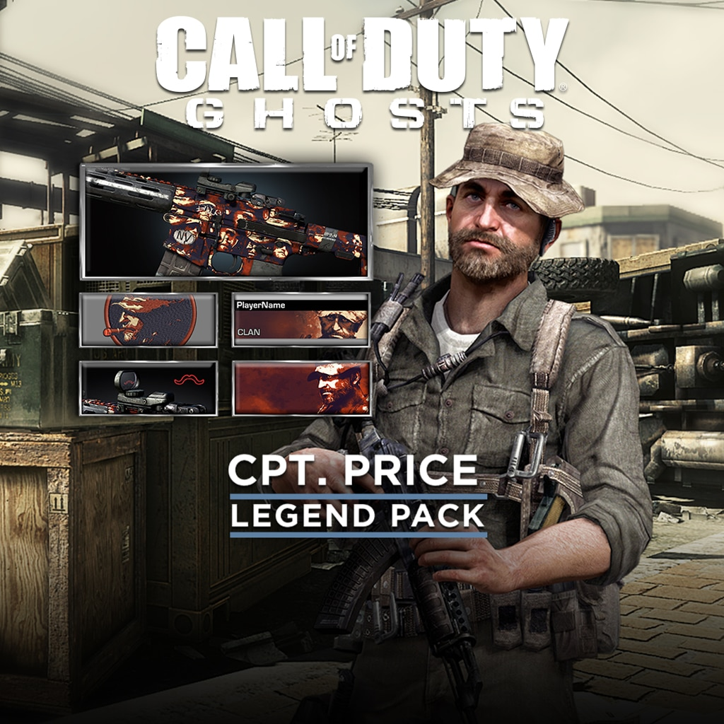 Call of Duty®: Ghosts - Pack Légende - Capitaine Price