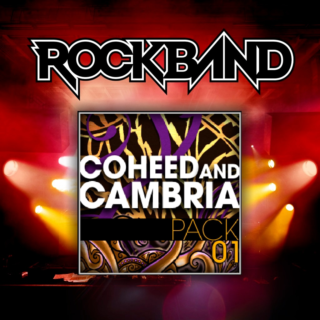 Coheed and Cambria Pack 01