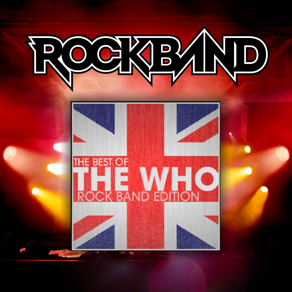 The Best of The Who Rock Band Edition