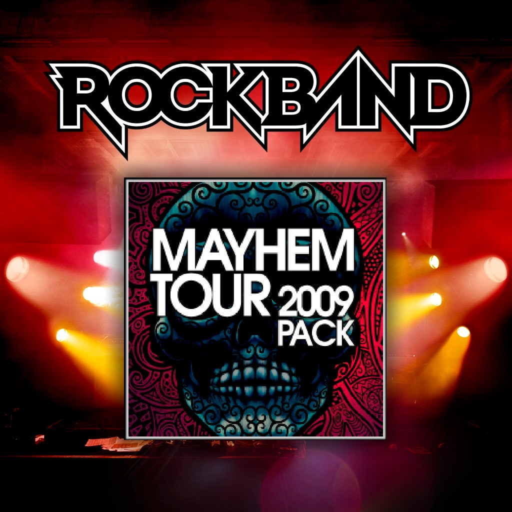 Mayhem Tour 2009 Pack 01