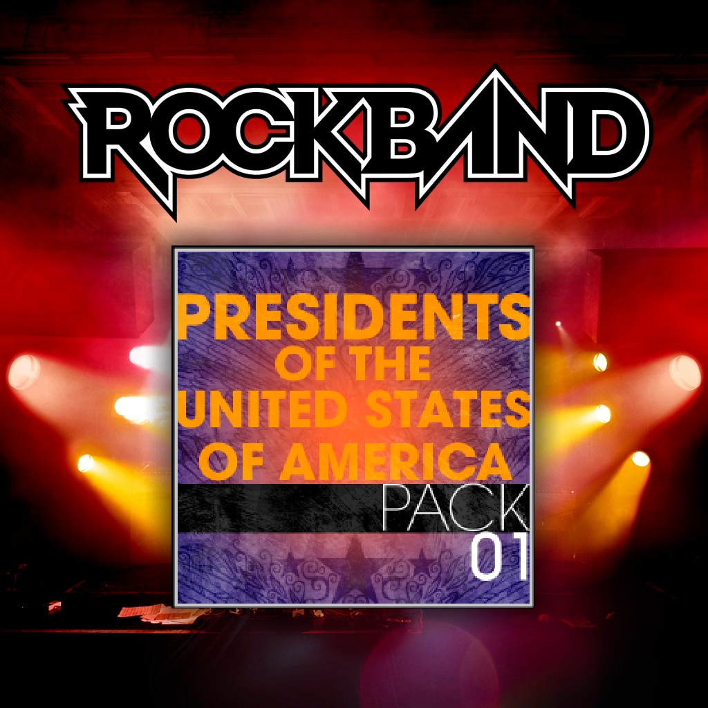 Presidents of the United States of America Pack 01