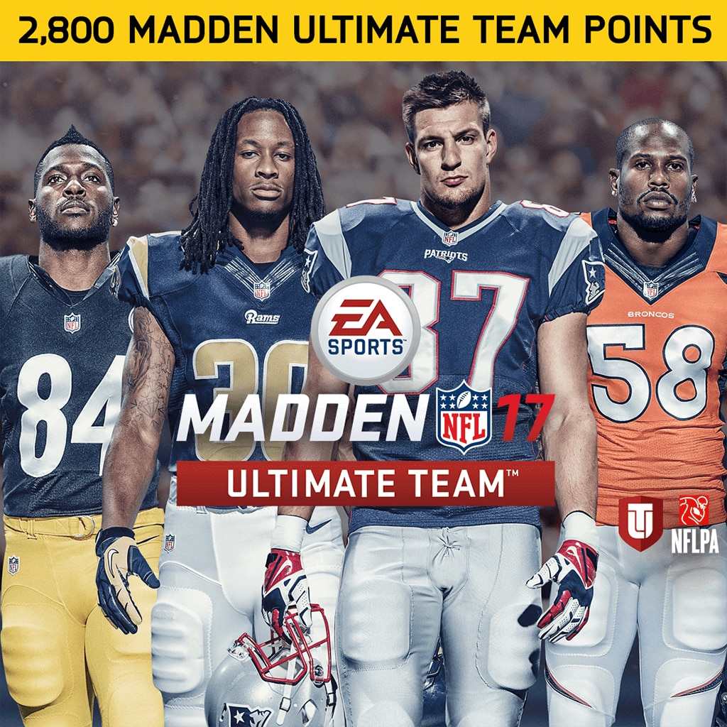 2800 Madden NFL 17 Points