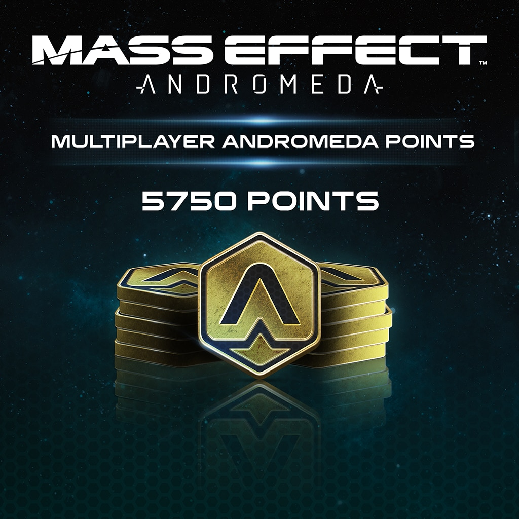 5750 نقطة للعبة Mass Effect™: Andromeda