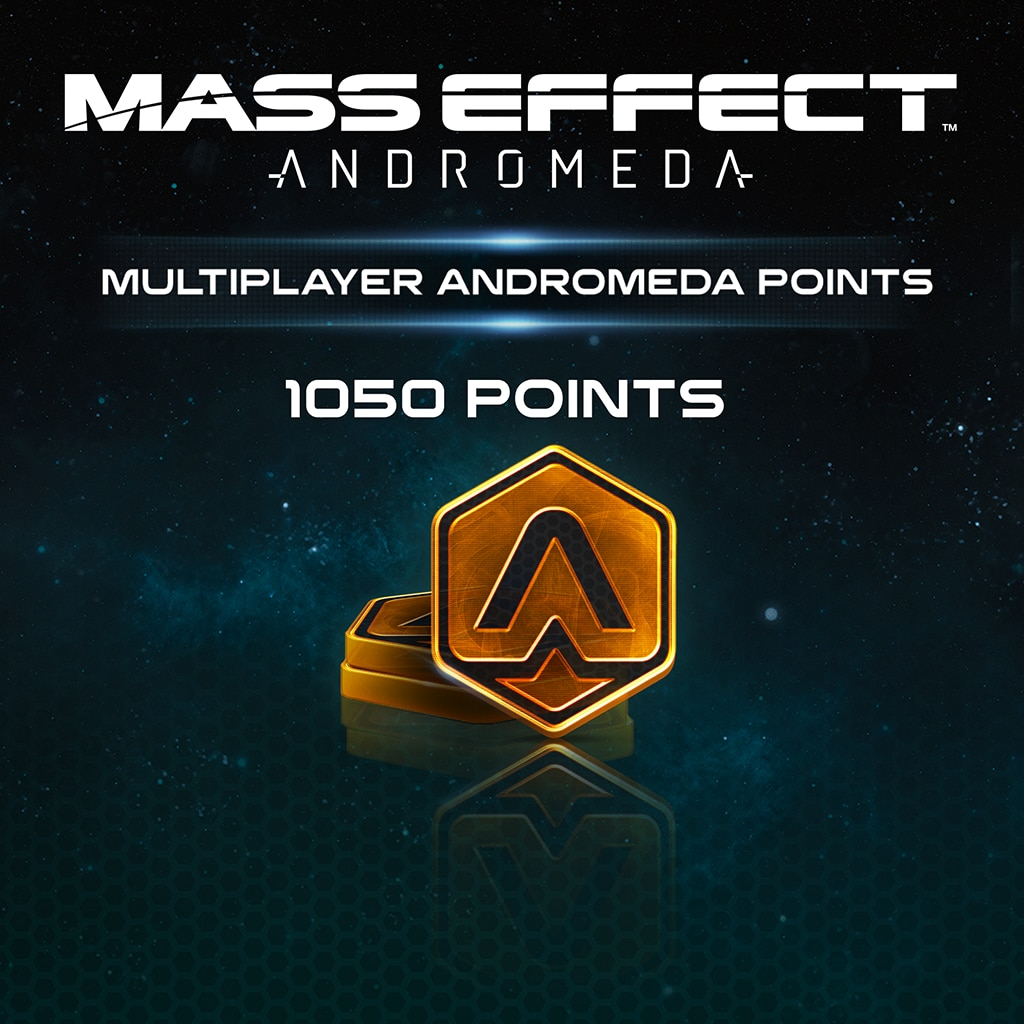 1050 نقطة للعبة Mass Effect™: Andromeda